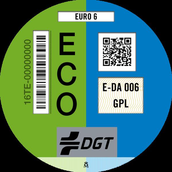 Distintivo ecológico español