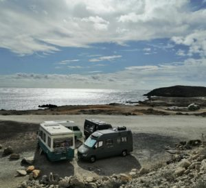 convoy ligrone en ruta