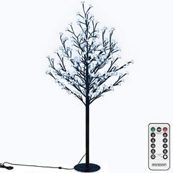 decoración navideña autocaravana árbol