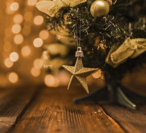 decoración navideña autocaravana