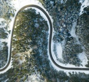 viajar autocaravana nieve y hielo