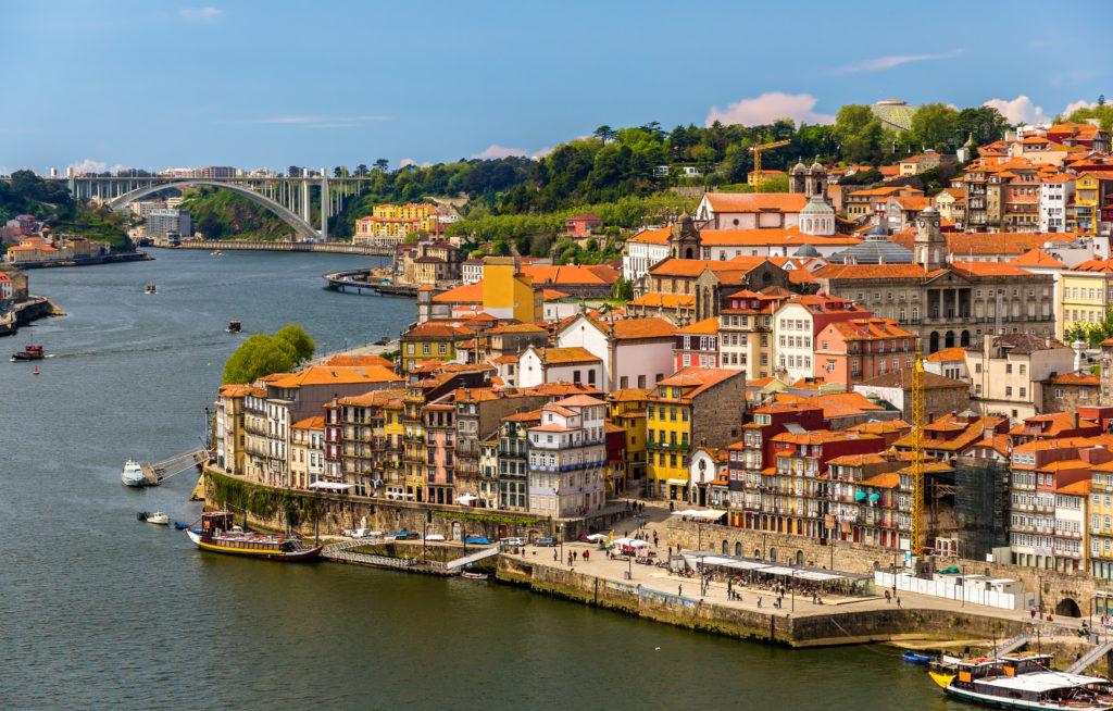 vistas de Oporto ideas de destinos para viajar en autocaravana
