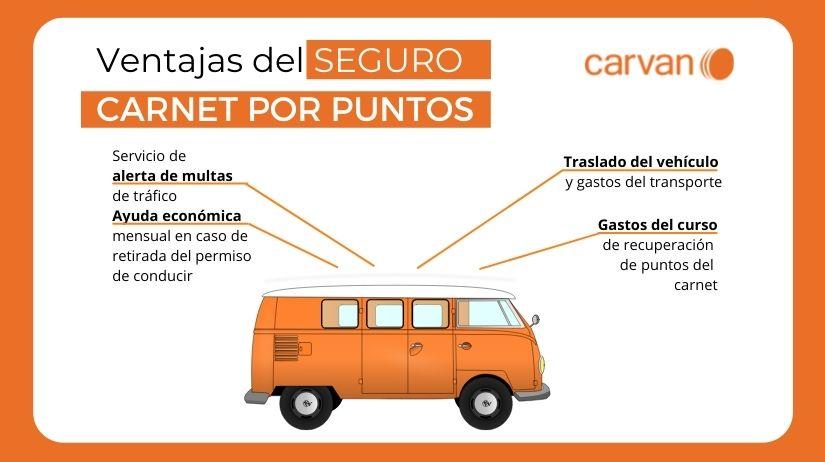 seguro carnet por puntos